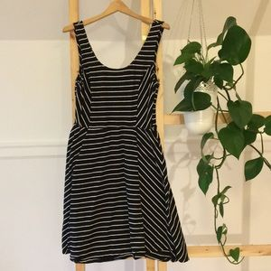 3/$18 Striped sun dress